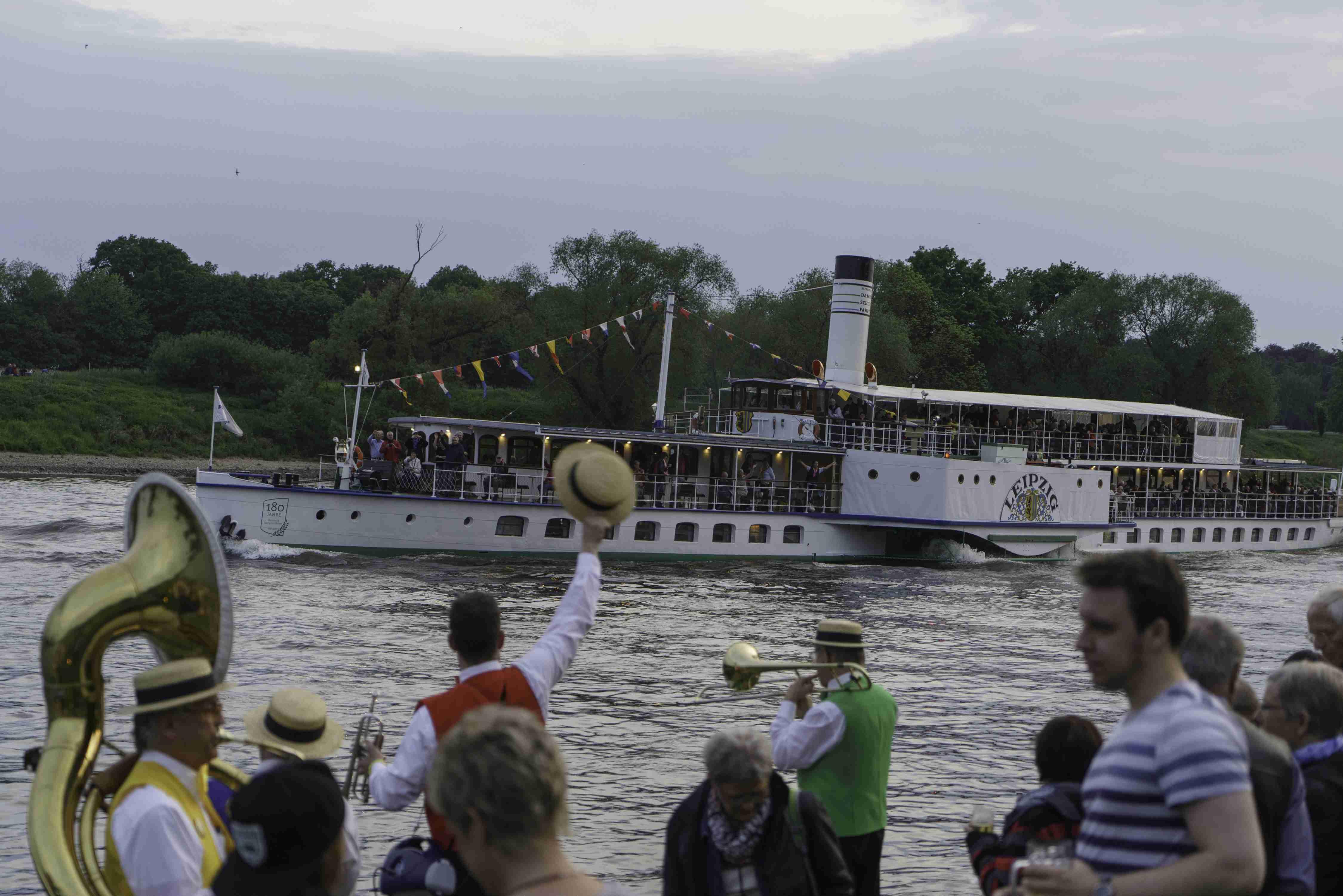 Riverboat Nostalgie Dixie Trail - Kig Dixieland Dresden 2017